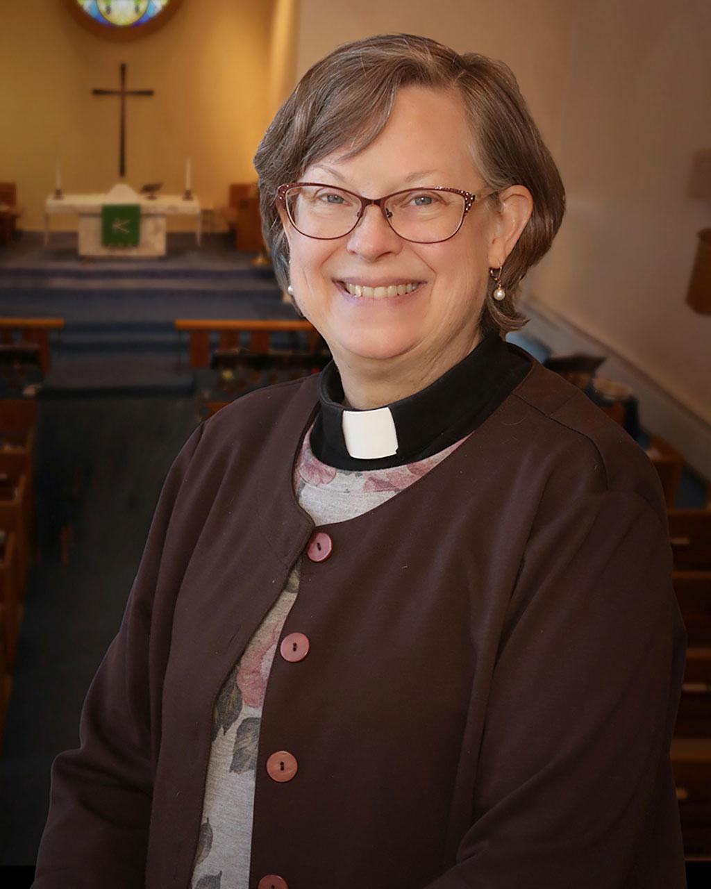 Rev. Julie Grasham Osterhout, Pastor